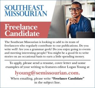 Freelance Candidate