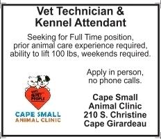 Vet Technician & Kennel Attendant