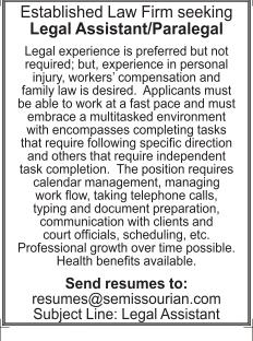 Legal Assistant/Paralegal
