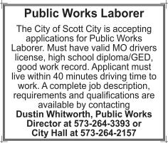 Public Works Laborer