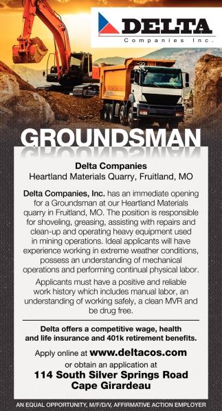 Groundsman