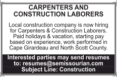 Carpenters and Construction Laborers
