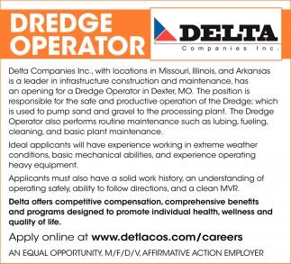 Dredge Operator