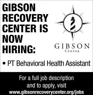 Part Time Behavioral Health Assistant