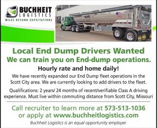Local End Dump Drivers