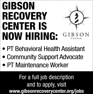 Behavioral Health Assistant, Community Support Advocate & Maintenance Worker