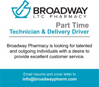 Technician & Delivery Driver