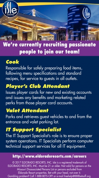We're Currently Recruiting Passionate People to Join Our Team!