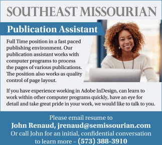 Publication Assistant
