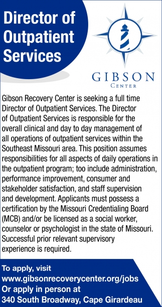 Director of Outpatient Services
