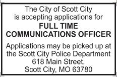 Full Time Communications Officer
