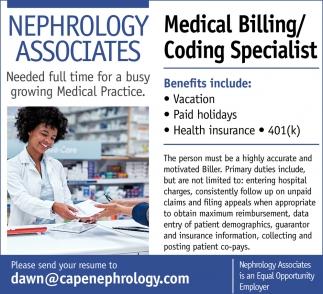 Nurse Practitioner, Nephrology Associates