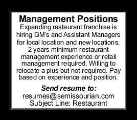 General Manager, Assistant Managers
