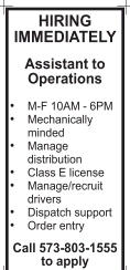 Assistant to Operations