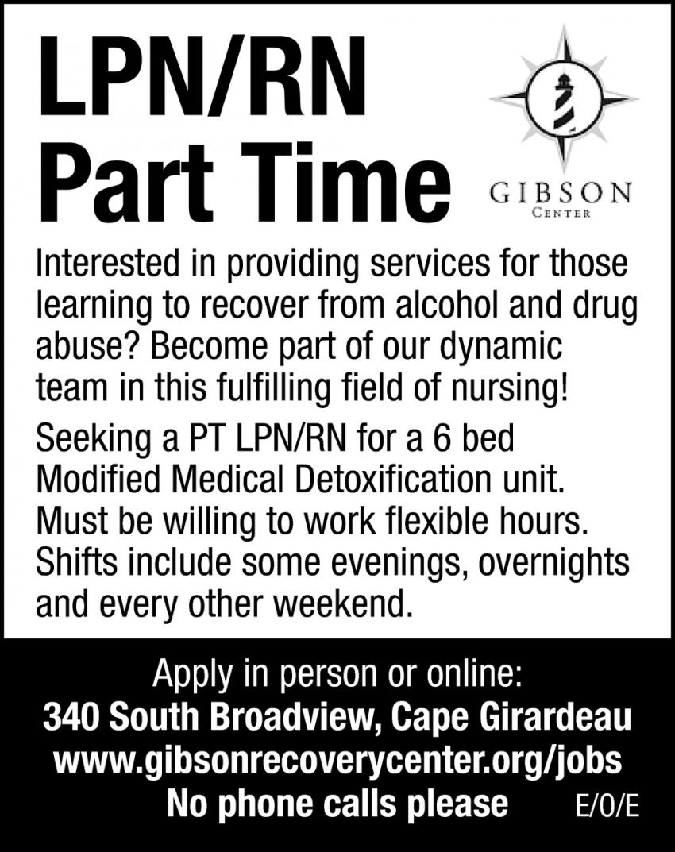 LPN/RN Part Time