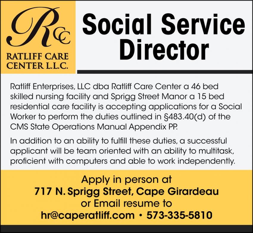 Social Service Director